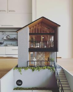Building Design, Building A House, Japanese Modern House, Townhouse Designs, Modern Bungalow, Facade Design, Facade House, House Layouts, Model Homes