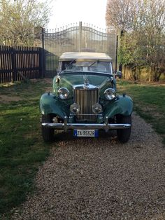 1952 mg td replica convertible had one built on a pinto frame mg td