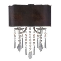 I could see this in a dressing room. Echelon wall sconce, $119.95, at Joss & Main