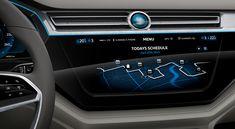 Volkswagen C Coupe GTE Concept Interior Render
