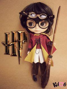 Sale OOAK Custom Blythe Doll Harry Potter