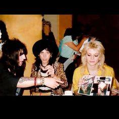 Michael, Sami and Razzle. #MichaelMonroe #Legend #Icon #HanoiRocks