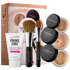 bareMinerals - Up Close & Beautiful: 30 Day Complexion Starter Kit  in Medium Beige #sephora