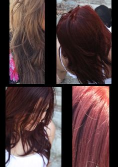 From Blahh To Vibrant Red Used Matrix Socolor Hilift Rr And Rv With Red Booster From Kenra