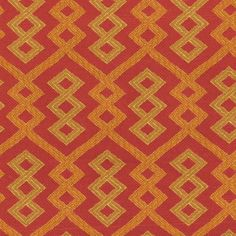 Upholstery Fabric- IMAN Tribal Twist Spice