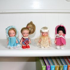 Oh, how I loved to play with my collection of Pee-Wee dolls when I was a kid!!!!!!