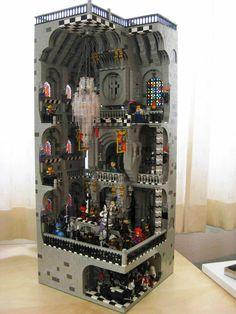 LEGO Castle interior