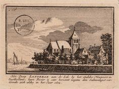 Het Dorp Langerak aan de Lek by het stedeke Nieupoort...in het Jaar 1612.