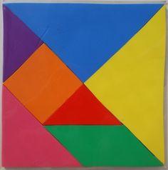 tangram stickies