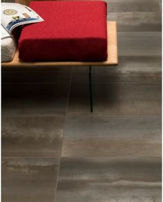 Discover the enduring beauty of metal with our new series Steel. This high-resolution porcelain tile celebrates the visual properties of metals such as the naturally occurring patinas and the intricacies of rust. Brick Patterns, Porcelain Tiles, Ottoman, Chrome, Flooring, Steel, Rust, Chair, Mosaic