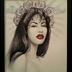 I chose this becuse i admir her becuse she didn't know how to speak spanish and yet she was still a very good singer Selena Quintanilla Perez, Selena And Chris, Selena Selena, Selena Pictures, Divas, Mexican American, Chicano Art, Piercings, Sketches