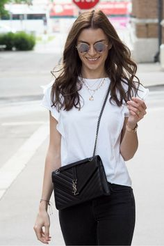 simple outfits, basic outfits, casual outfits, accessories, daniel wellington, ysl, yves saint laurent