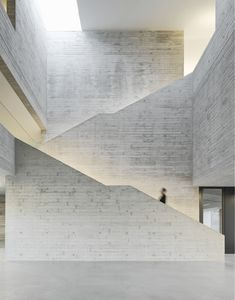 Time travel in Klinker - Cultural History Center in Vreden by pool liver - Bibliothek - Cultural Architecture, Staircase Architecture, Romanesque Architecture, Museum Architecture, Education Architecture, Classic Architecture, Commercial Architecture, Staircase Design, Residential Architecture