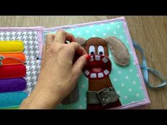 Quiet book for Anička Lunch Box, Youtube, Bento Box, Youtubers, Youtube Movies