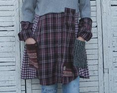 15% OFF Sweater Tunic L/XL Upcycled Clothing Recycled