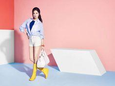 Seo Joohyun Seohyun of Girls' Generation #SNSD for fashion brand #Mixxo
