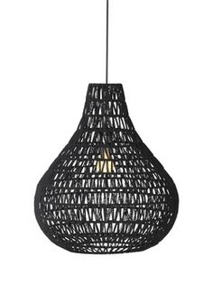 ♥ this Lamp 'Drop Black' @ deBijenkorf. Black Queen, Linear Lighting, Pendant Lighting, I Like Lamp, Room Of One's Own, Black And White Theme, Black Furniture, Hanging Lights, Cozy House
