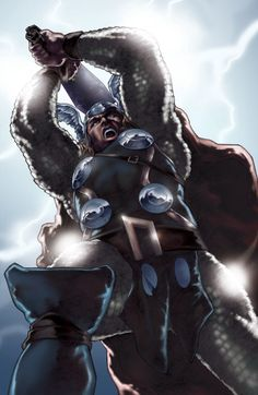 The Mighty Thor - colors by PatC-14 on @DeviantArt
