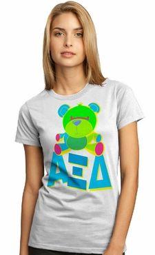 Alpha Xi Delta - bright mascot tee