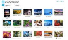 Jigsaw Planet Jigsaw Puzzles: Jigsaw Planet Home Page