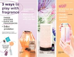 3 Ways to Fragrance with Fall 2017 Scentsy! NEW SCENTSY FALL WINTER 2017 2018 CATALOG SLIDESHOW | Buy Scentsy® Online | Scentsy Warmers and Scents | Incandescent.Scentsy.us