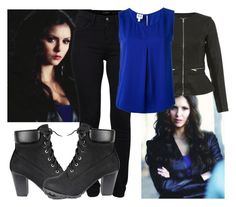 Katherine Pierce by a-star123 on Polyvore featuring polyvore, fashion, style, Armani Collezioni, Miss Selfridge, French Connection and clothing