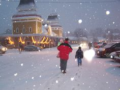 North Conway at Christmastime