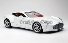 248.80$  Buy now - http://alixks.worldwells.pw/go.php?t=32772605343 - * MORNING FROST WHITE 1:18 Aston Martin One 77 2009 Sport Car Diecast Model Miniature Toys Alloy Gifts Collection Minicar 248.80$