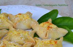 Παραδοσιακά χανιώτικα καλιτσούνια - cretangastronomy.gr Cantaloupe, Shrimp, Snacks, Meat, Fruit, Food, Appetizers, Essen, Yemek