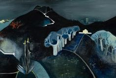 Tove Jansson: Mysterious Landscape image: Finnish National Gallery, Central Art Archives/ Hannu Aaltonen выставка Тове Янсен