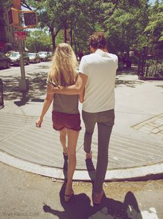couple on street style blog