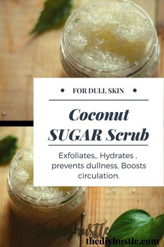 This Coconut scrub will take you on a tropical island, hardly takes two mins to make. All in One package, Use it either on Face, lips, as a Body Scrub or as Hand and Foot Scrub. It brightens up your dull skin leaving a subtle glow behind. Plus, you can g