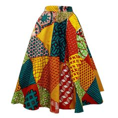 African Print Skirt, African Print Clothing, African Print Dresses, African Print Fashion, African Dresses For Kids, Latest African Fashion Dresses, African Dresses For Women, African Attire, Style Africain