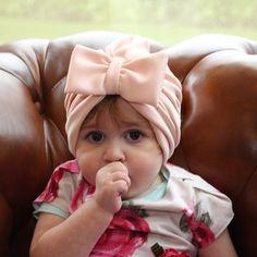 pink turban hat, fashion turban, floral turban, Baby headwrap, baby turban headband,  Infant Headband, pink girl bow, Baby Hair Bow by RonaHandmadeTurbans on Etsy https://www.etsy.com/listing/499146924/pink-turban-hat-fashion-turban-floral
