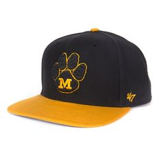 3c103d0584278 Cap off any look with this comfortable  Mizzou hat! Now available online  and in