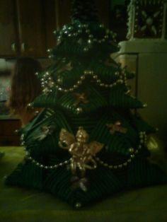 Vianocne papierove pletenie