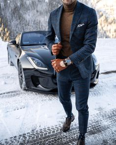 visit our website for the latest men's fashion trends products and tips . Fashion Moda, Suit Fashion, Mens Fashion, Suit Combinations, Classy Suits, Casual Wear For Men, Dapper Men, Gentleman Style, Stylish Men
