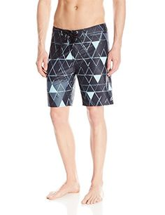 7046f1e97d3dd Swim ALPINESTARS Men's Triad Boardshort, Black, 28 <3 This is an Amazon  Associate's Pin. Item can be found on the website by clicking the VISIT  button.