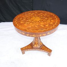 Dutch Marquetry Inlay Centre Table Dining Tables
