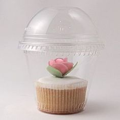 Clear Cupcake boxes with Domed Lids  http://www.littlecupcakeboxes.co.uk/cupcakeboxes/multiple-cupcake-boxes.html  #cupcake-boxes