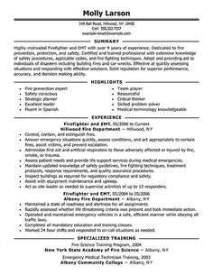 11 Best Resume images in 2018 | Firefighter resume, Resume ideas ...