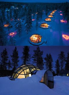 Glass Igloo in Finland (10 Pics)