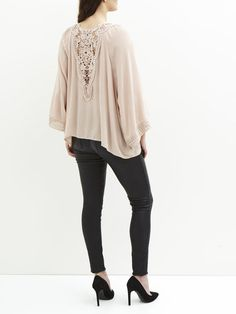 LOOSE-FITTING BLOUSE, Rugby Tan