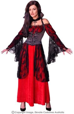 Nightmare Vampiress Costume $70.00