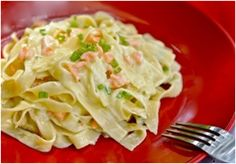 Recipes Recommendations: Tagliatelle with Smoked Salmon. ' Of course I would recommend Scottish smoked salmon!!