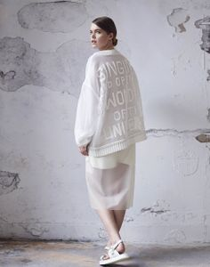 Hannah Jenkinson #fashion #knitwear #embroidery.