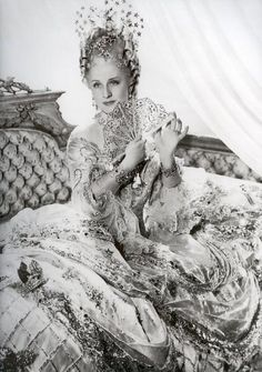 normashearer as marie-antoinette, costume by adrian