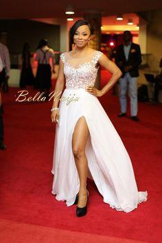 Toke Makinwa in Pastiche Couture