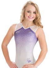 Nastia Liukin Lavender Mist Leotard from GK Gymnastics