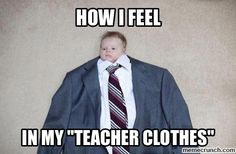 Teacher clothes